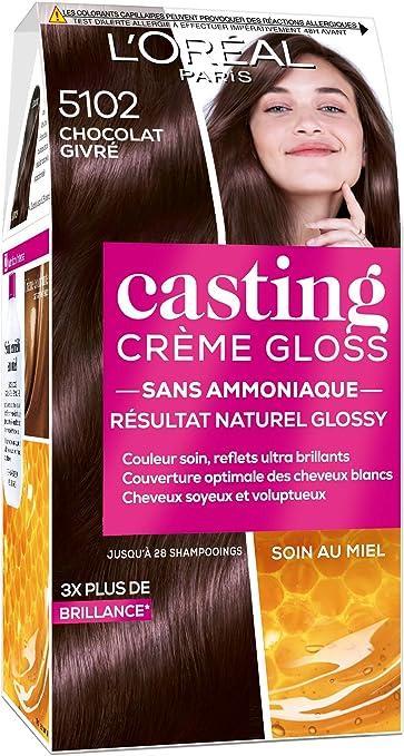 LOréal Paris Casting Crème Gloss 5102 Chocolat Givré Châtain Foncé Glacé Collection Cool Brunette