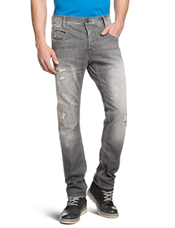 f7677f0c6de Amazon.com: G-Star Raw Men's New Radar Slim Fit Jean in Medium Aged  Destroy: Clothing