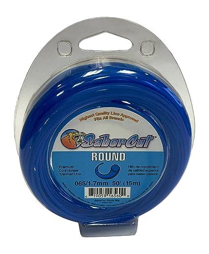 Amazon.com : SaberCut I34 LR06515 ROUND LOOP Trimmer, 0.065 ...