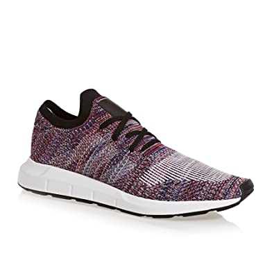 50d04d5d1b123 adidas Mens Originals Mens Swift Run Primeknit Trainers in Purple - UK 4