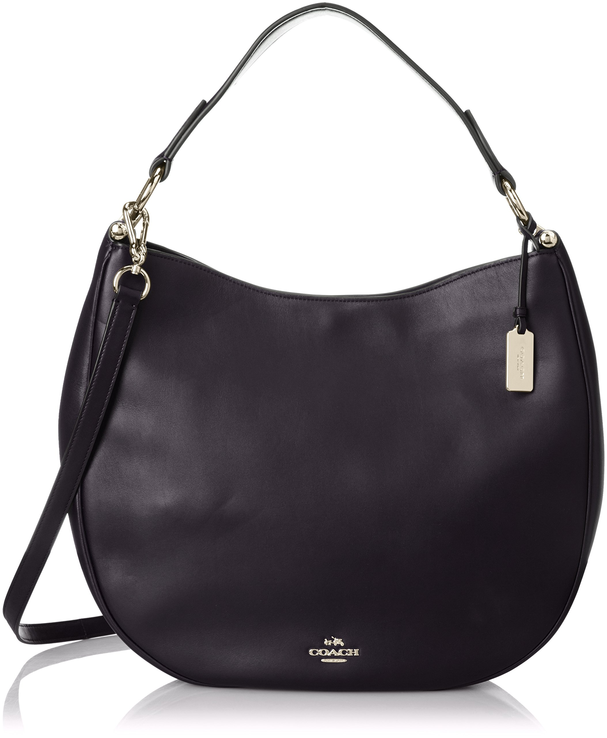 COACH Women's Natural Calf Nomad Hobo LI/Navy Handbag by Coach