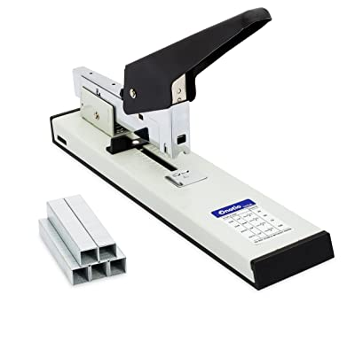 Onotio Heavy Duty 100 Sheet High Capacity Office Desk Stapler with 1000 Box Staples