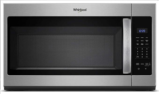 Amazon.com: Whirlpool WMH31017FS Microondas 1,7 cu cuadrados ...