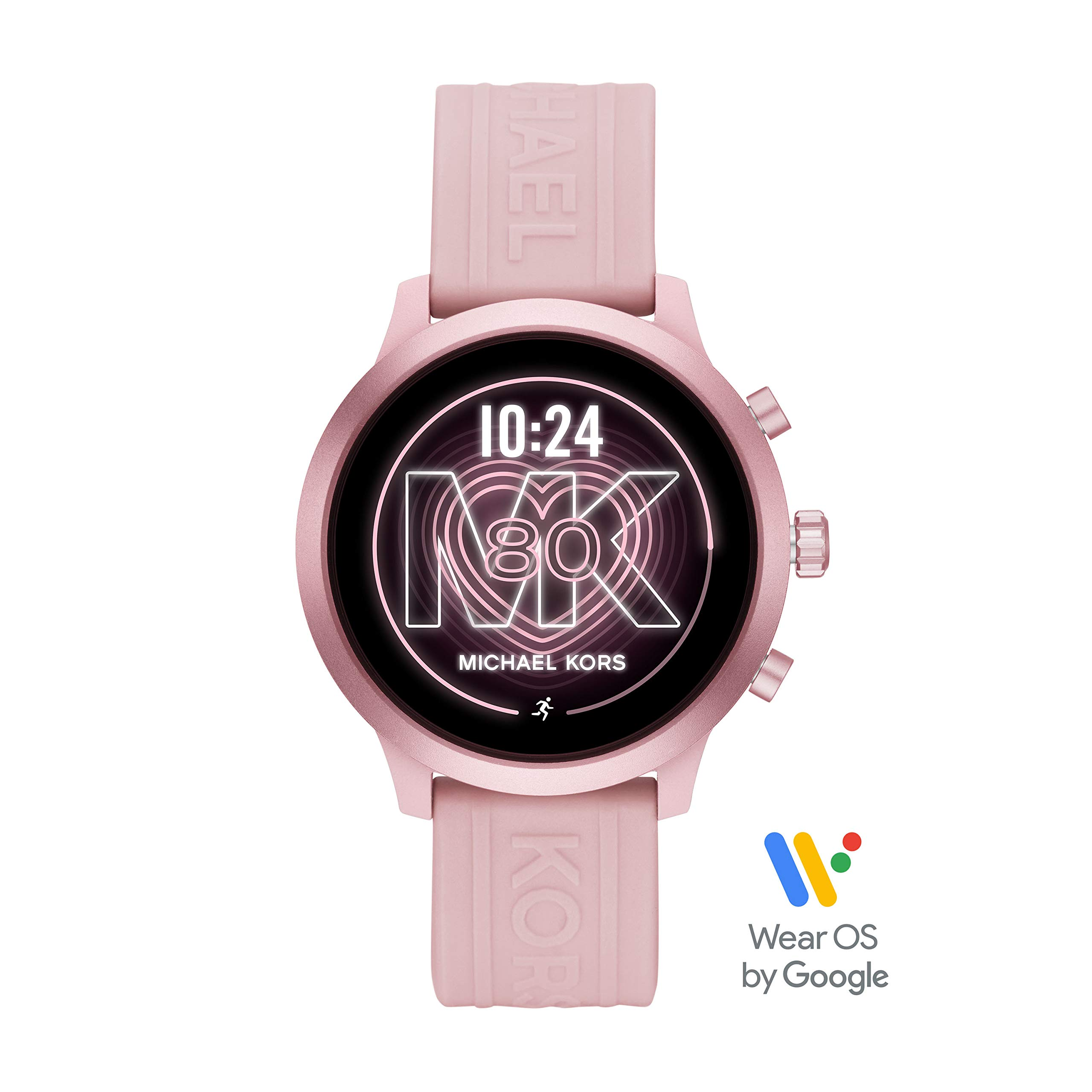 Michael Kors Access Women's MKGO Touchscreen Aluminum and Silicone Smartwatch, Blush/Pink-MKT5070 by Michael Kors