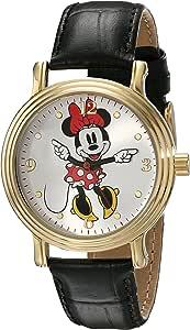 Disney - Reloj brazalete de Minnie Mouse para mujer