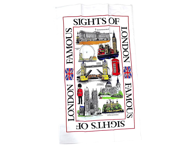 Epl Torchon imprim/é souvenir de Londres Design sites de Londres