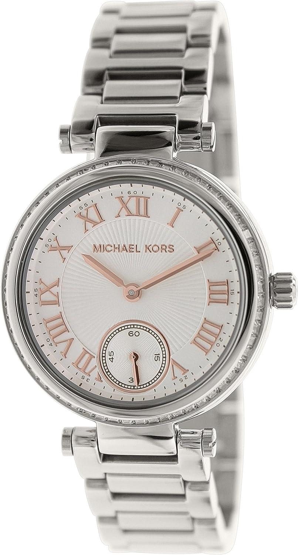 4651dc1c2870 Amazon.com  Michael Kors Women s MK5970 - Mini Skylar Silver  Michael Kors   Watches