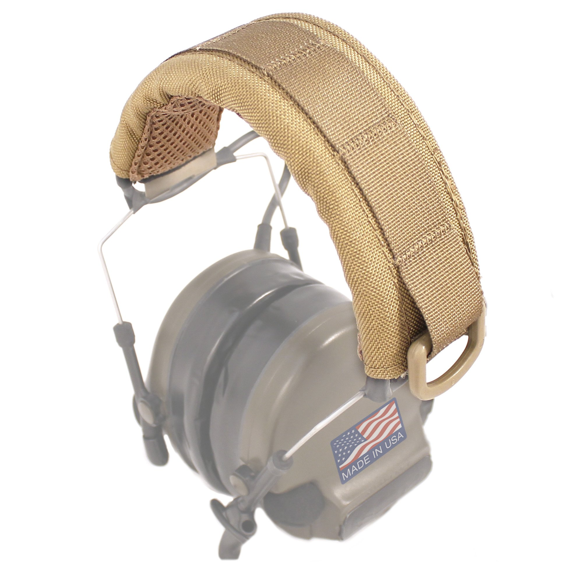 U.S. Tactical Sewing USTS Advanced Modular Headset Cover (Coyote Brown) by U.S. Tactical Sewing