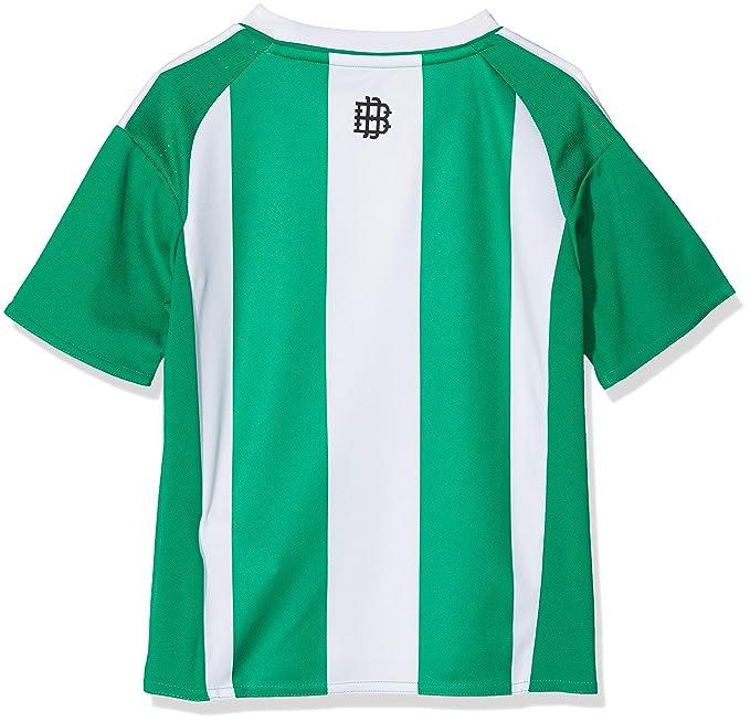 Adidas 1ª Equipación Betis FC - Camiseta Oficial niños: Amazon.es: Deportes y aire libre