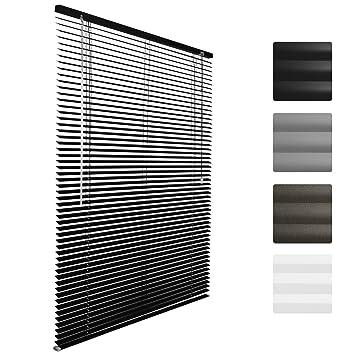 Superbe Sol Royal Store Venitien En Aluminium SolDecor J32 Pour Fenêtre Et Porte    Noir 40x130 Cm