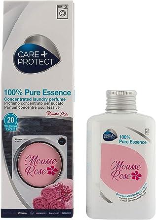 CARE + PROTECT 8016361971097 Profumo per Bucato 100% Pure Essence Mousse Rose (100 ml)