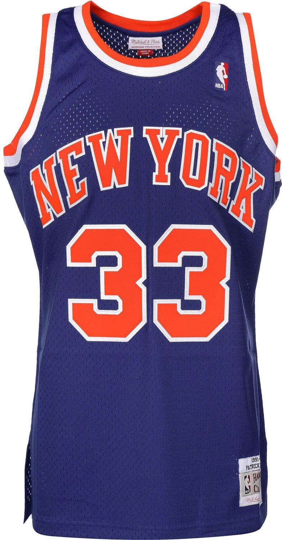e0acdf74579 Mitchell   Ness Patrick Ewing  33 New York Knicks 1991-92 Swingman NBA  Jersey Blue  Amazon.co.uk  Sports   Outdoors