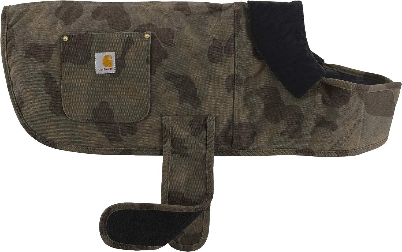 Carhartt Pet Firm Duck Insulated Dog Chore Coat: Clothing