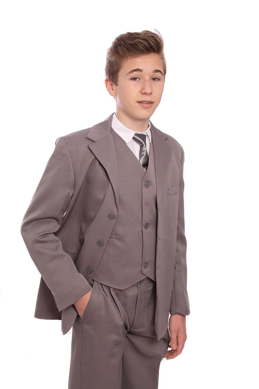 Boys Five Piece Grey Suit (12-18 months)