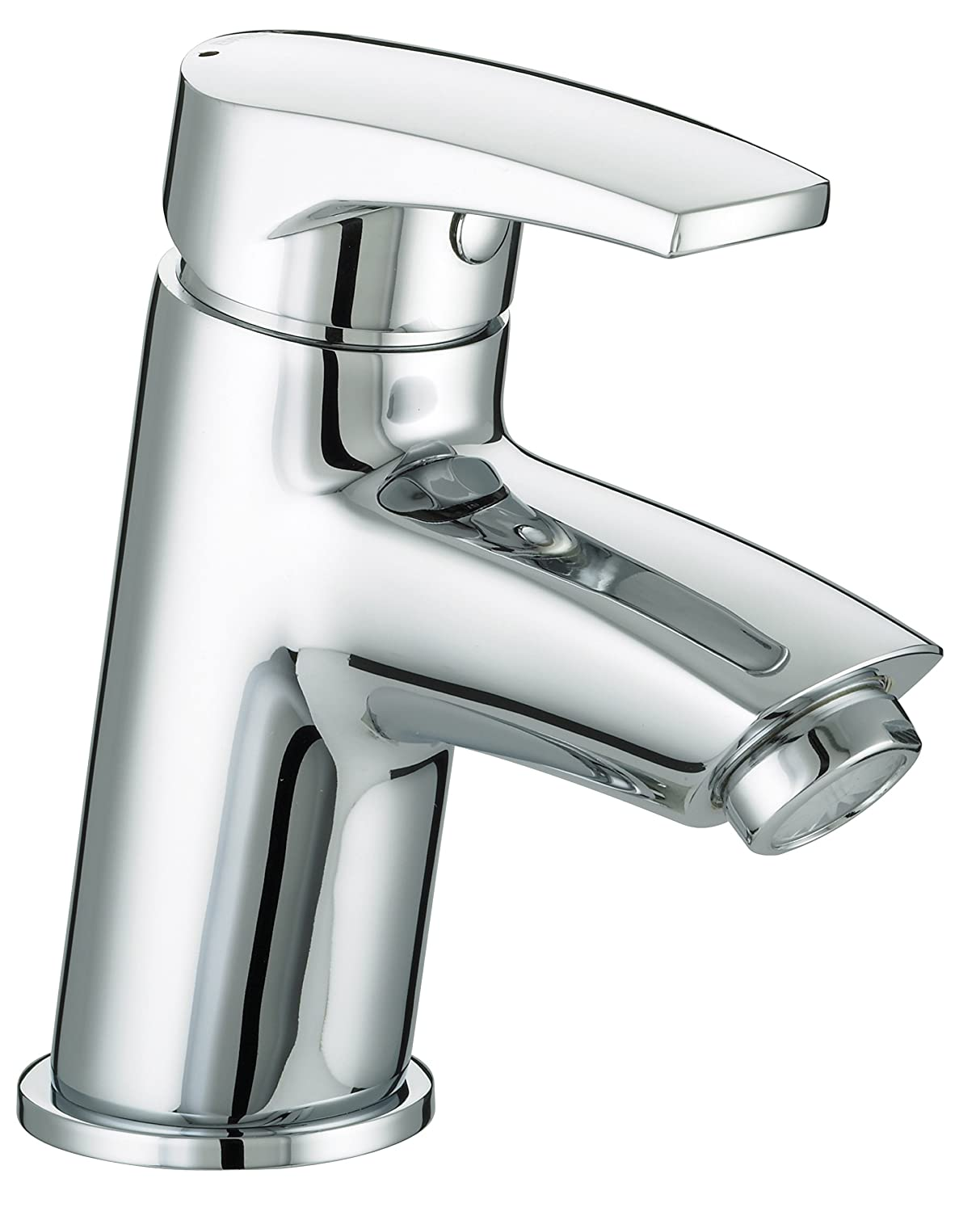 Chrome Plated Bristan OR BAS C Orta Basin Mixer with Clicker Waste