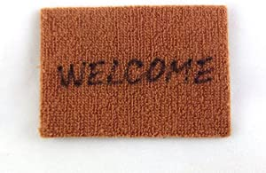 Melody Jane Dolls Houses House Miniature 1:12 Scale Hall Door Step Accessory Welcome Mat