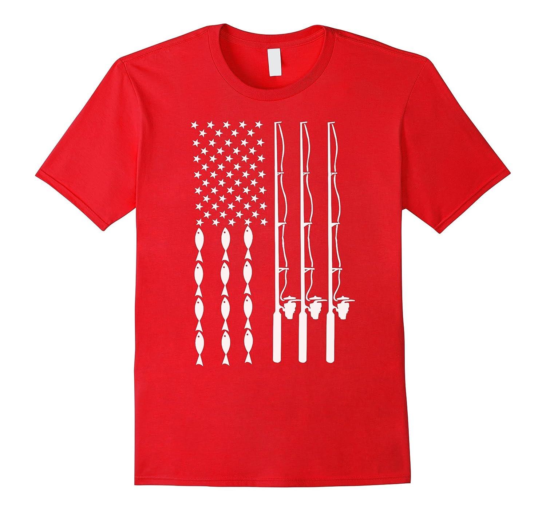 American Flag Fishing Shirts Cool fishing gift for Fisherman-BN