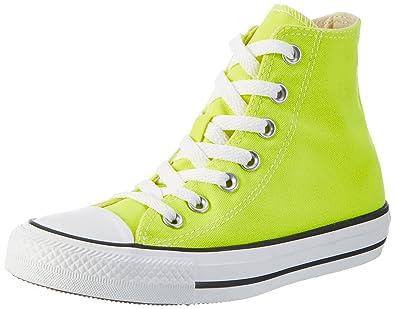 250277ce830338 Converse Unisex Adults  1J793 Gymnastics Shoes Yellow Size  4.5 UK ...