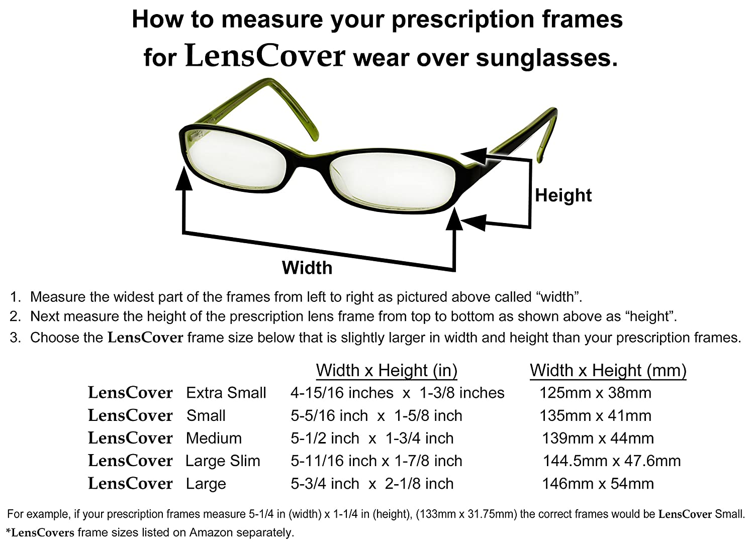 Amazon lenscovers sunglasses wear over prescription glasses amazon lenscovers sunglasses wear over prescription glasses small clothing geenschuldenfo Images