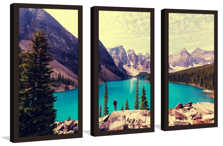 Picture Perfect InternationalBanff 4 Framed Plexiglass Wall Art Set of 3