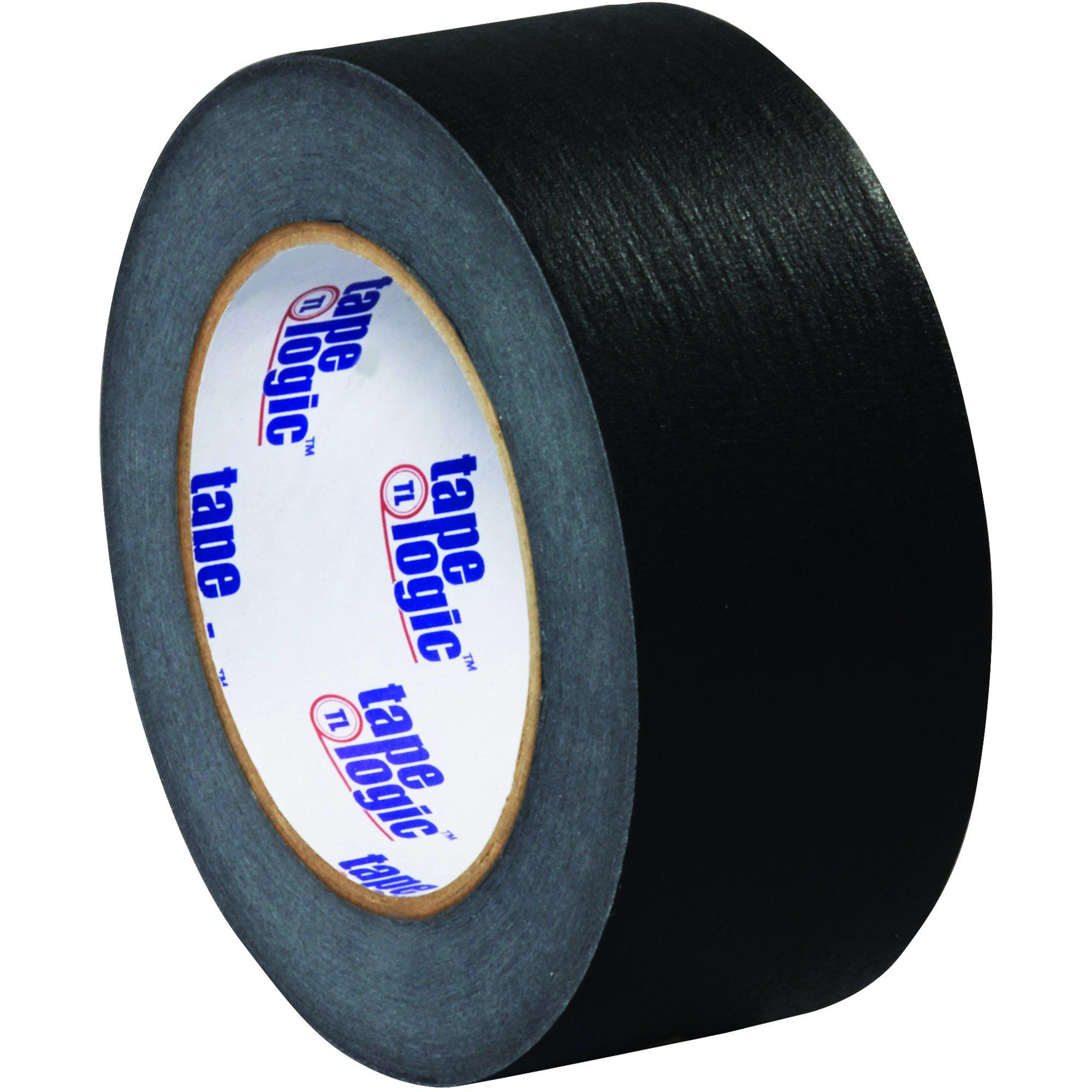 BOX USA BT937003B Tape Logic Masking Tape, 2'' x 60 yd., Black (Pack of 24)