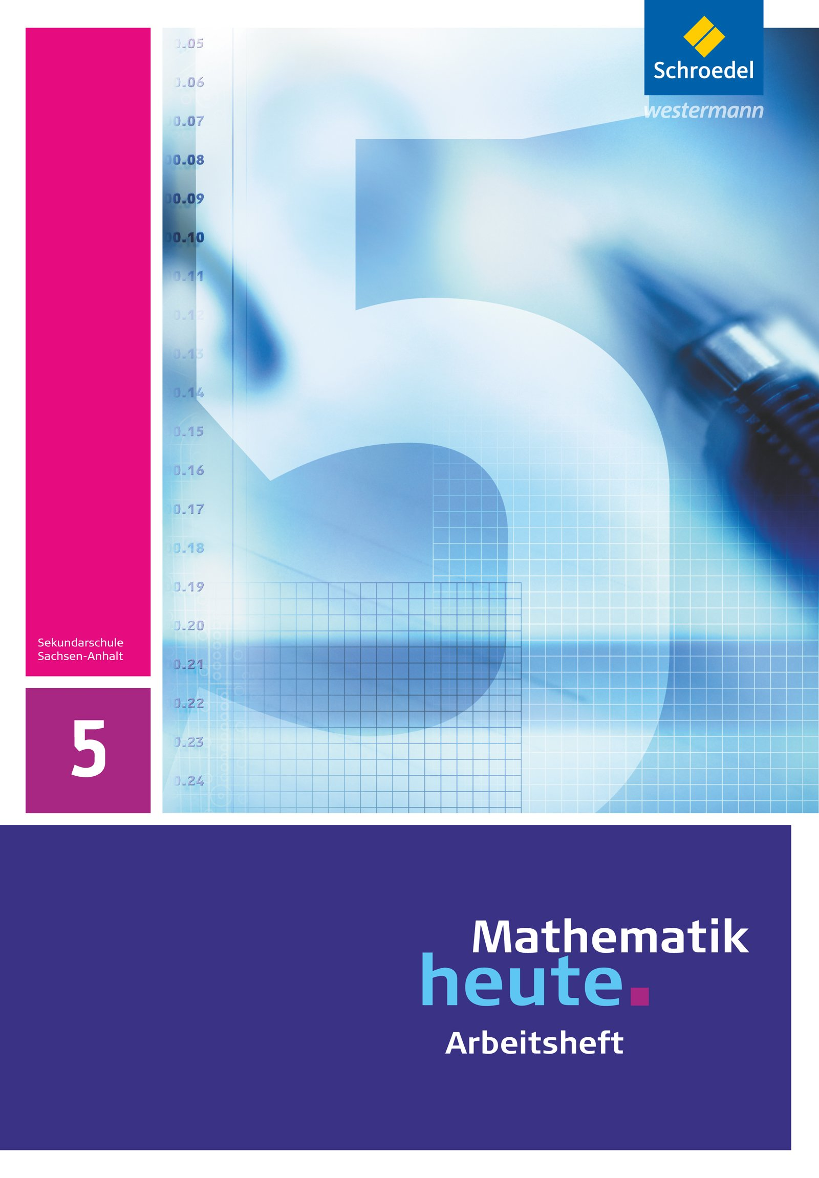 Mathematik heute - Ausgabe 2009 für Sachsen-Anhalt: Arbeitsheft 5