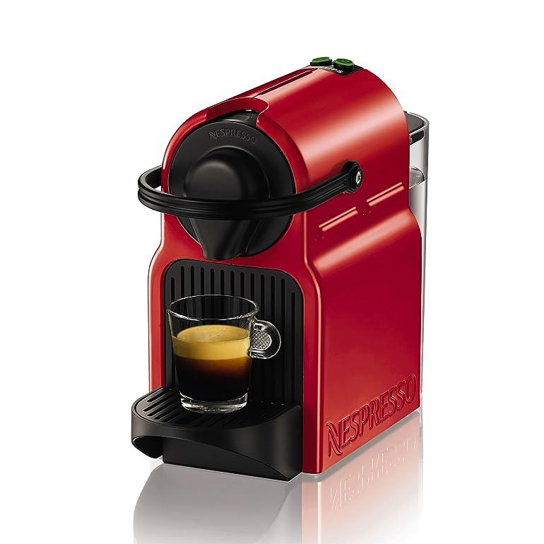 Krups Nespresso Inissia XN1005 - coffee machine - 19 bar - red ...
