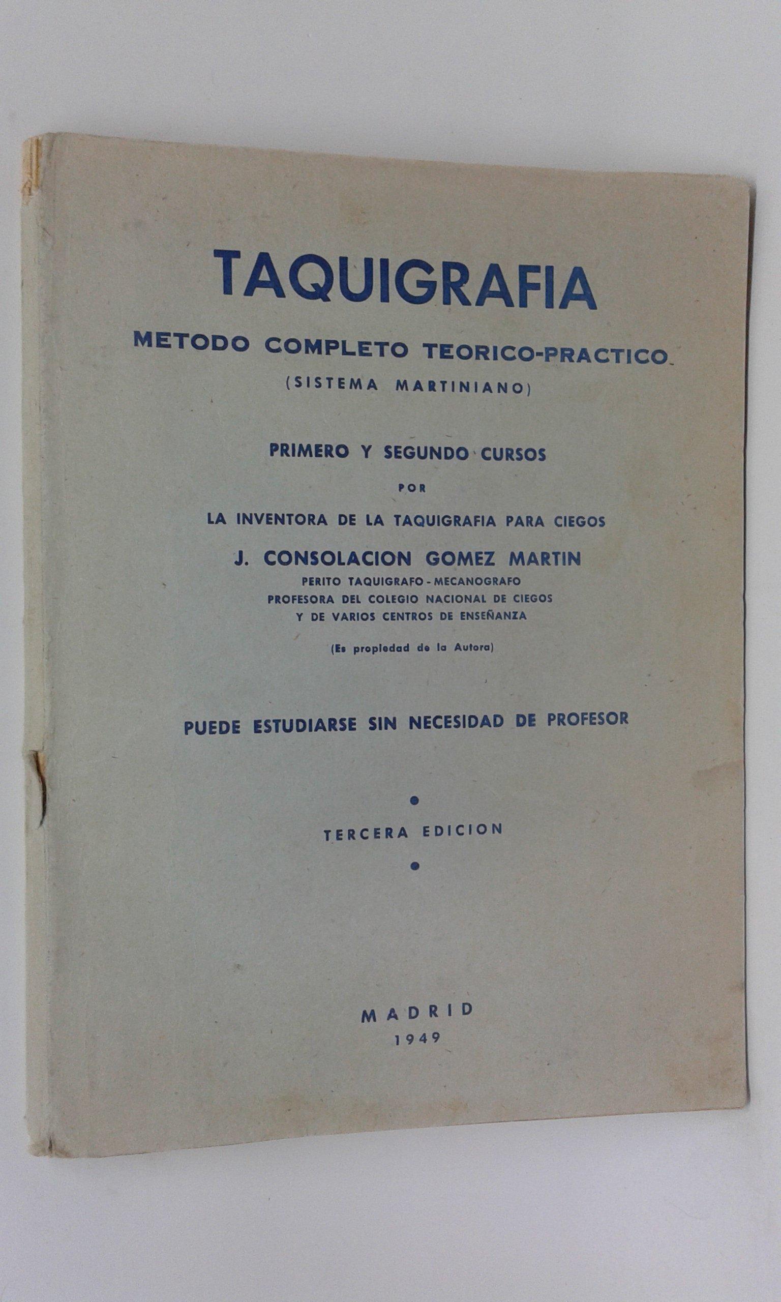 Taquigrafía. Método completo teórico-práctico sistema martiniano ...