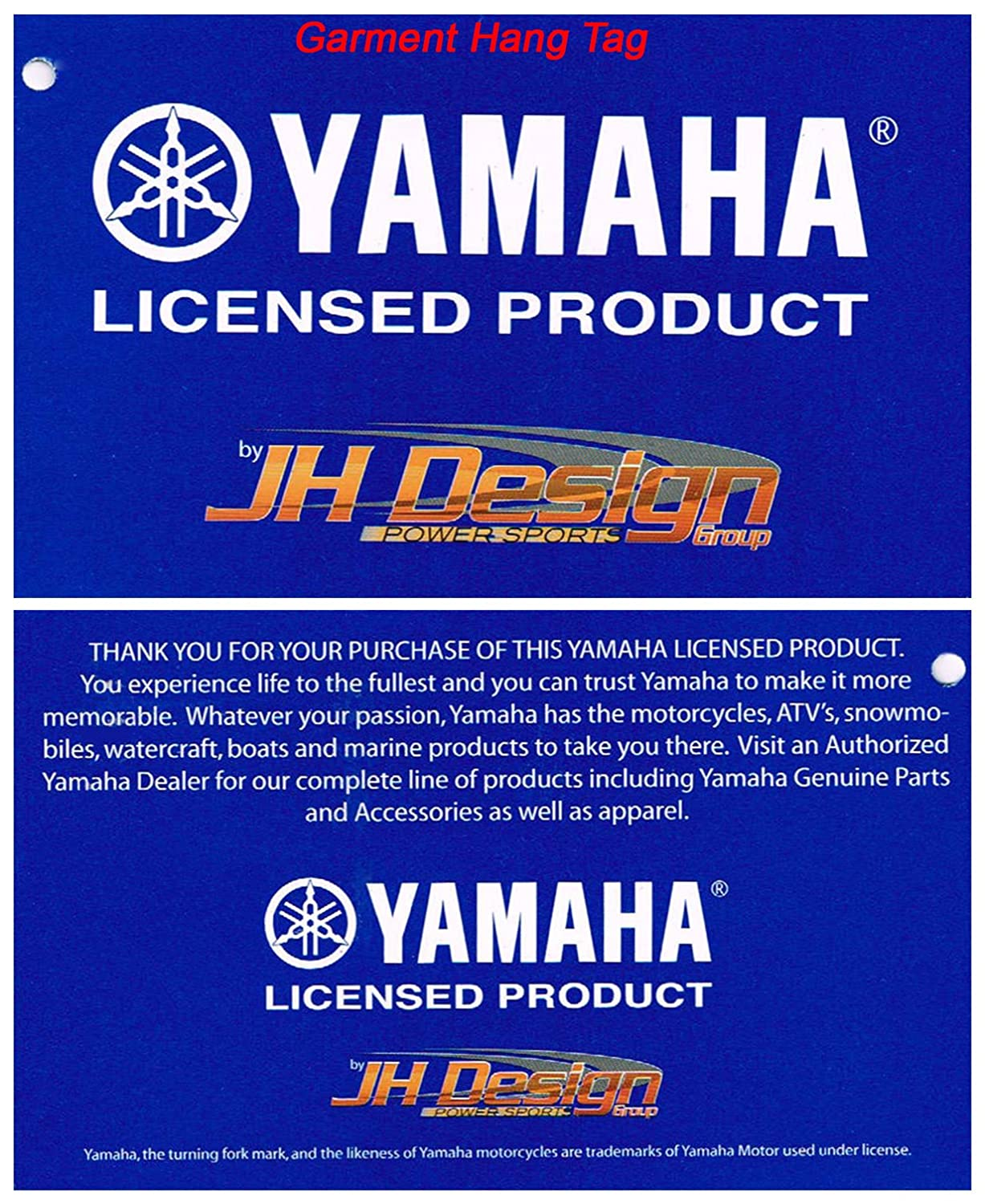 f972495036c Amazon.com  Yamaha Racing Mens Cotton Twill Embroidered Jackets in 3 Great  Styles (3X