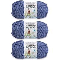 Bernat Baby Blanket Yarn (3-Pack) Baby Denim 161103-3115