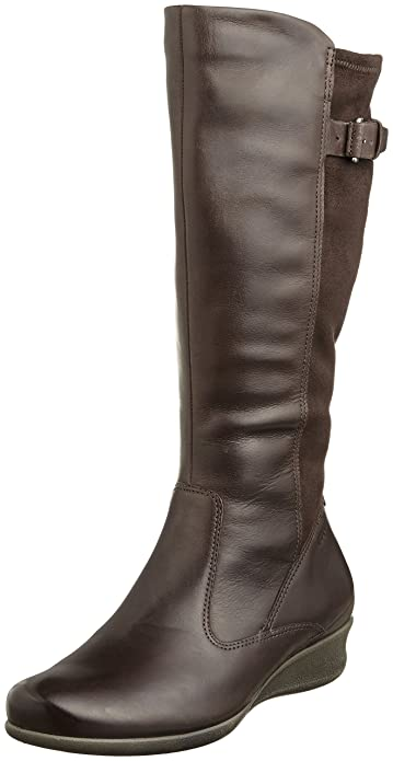 Amazon.com | ECCO Women's Abelone Tall Boot | Knee-High