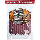 Old Trapper Original Deli Style All Beef Sticks | 15 Oz Bag