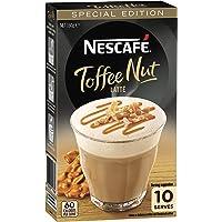 NESCAFÉ Toffee Nut Latte, 1 pack of 10 serves