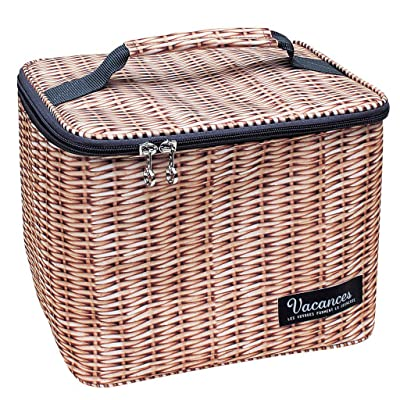 Time Concept Thermo-Insulated Designer Picnic Accessory - Lunch Box - Panier: Home & Kitchen