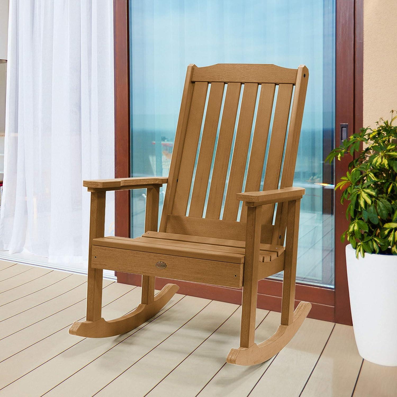 Highwood Lehigh Rocking Chair, Toffee