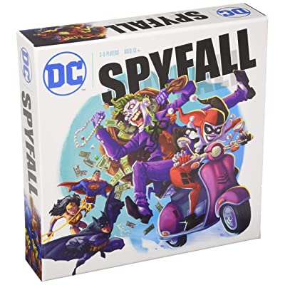 DC Spyfall Board Game: Toys & Games