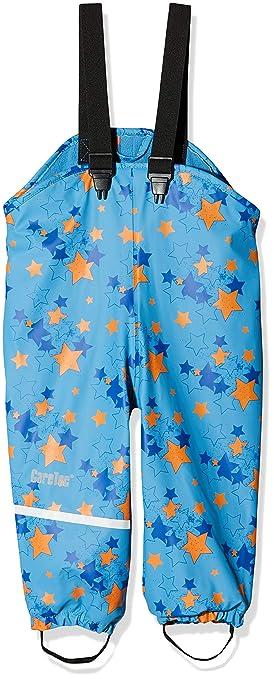 CareTec Kinder wasserdichte Regenlatzhose mit Fleecefutter (verschiedene Farben)