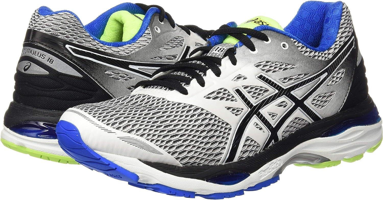 ASICS T6C3N0190, Zapatillas De Running para Hombre, Blanco (White / Black / Electric Blue), 40 EU: Amazon.es: Zapatos y complementos