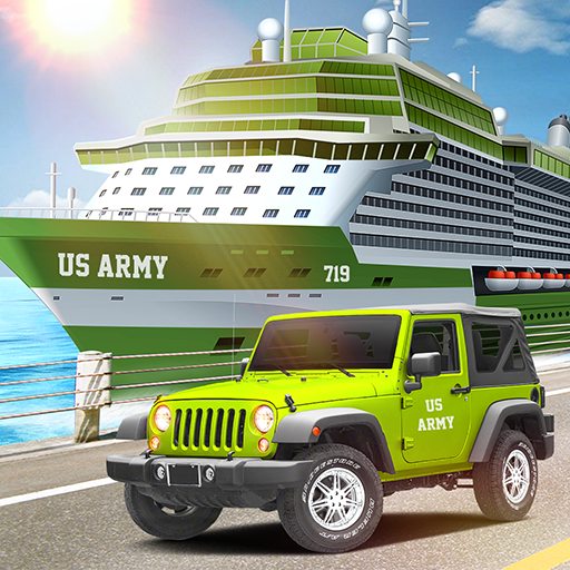 (US Army Car Transport: Cruise Ship Simulator Games)