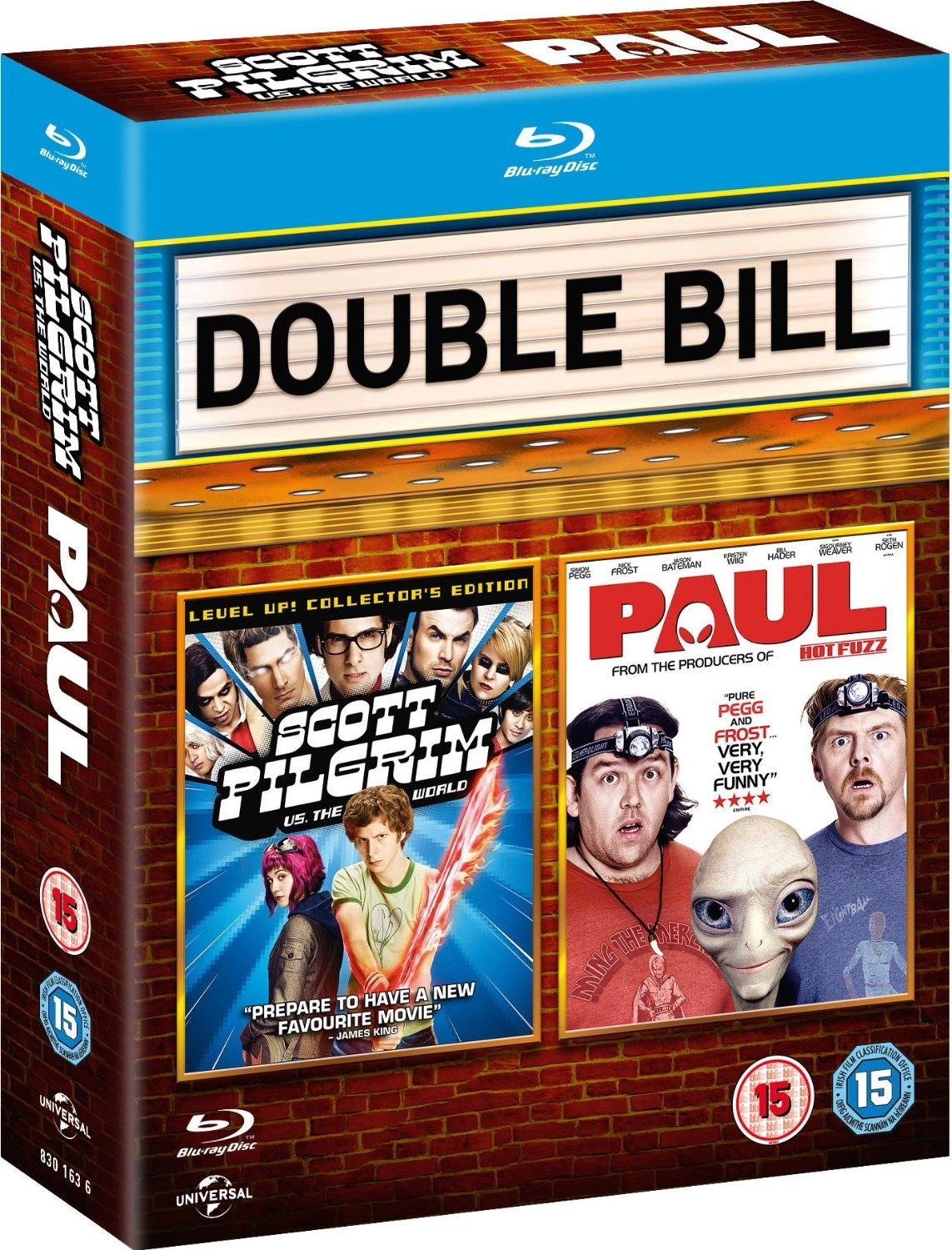 Scott Pilgrim vs. The World / Paul - Double Pack Blu-ray: Amazon.es: Cine y Series TV