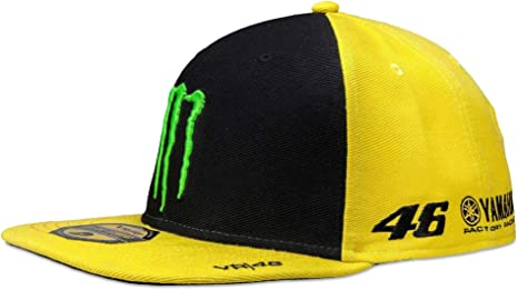 VR46 MOMCA275001 Gorra Ajustable Valentino Rossi Monster Energy ...