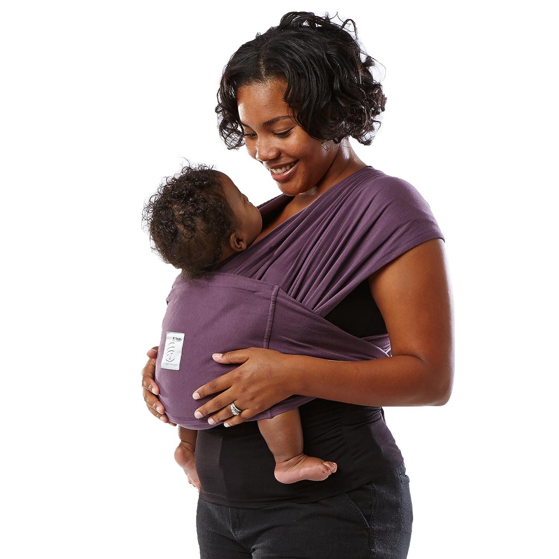 Black Baby K/'tan ORIGINAL Cotton Wrap Baby Carrier XX-Small