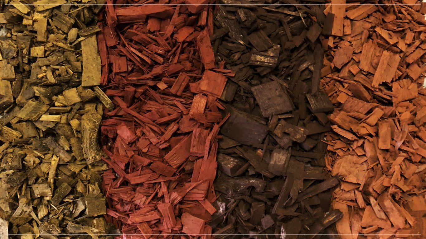 Bark Mulch Garden Wooden Chips Substrate - 4 Colours (Brown) Greenvo
