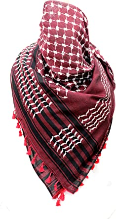 Womens Mens Military Arab Tactical Desert KeffIyeh Shemagh Head Scarf Neck Wrap