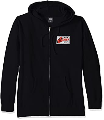 huge selection of 3f956 0d6f1 Obey - Felpa None Of You Business Basic Zip Pull Over ...