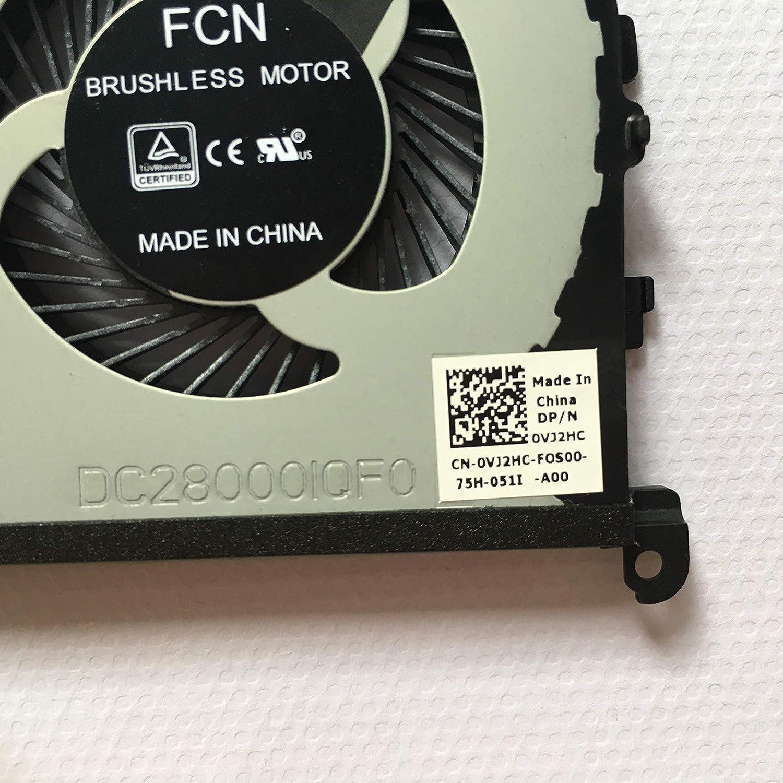 CN-0TK9J1 0TK9J1 TK9J1 DP//N New Cooling Fan Compatible with Dell XPS 15 9560 Right Side Cooling Fan 4-Pin 4-Wire