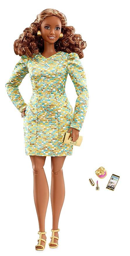 239055f236 Amazon.com  Barbie The Look Metallic Mini Doll  Toys   Games