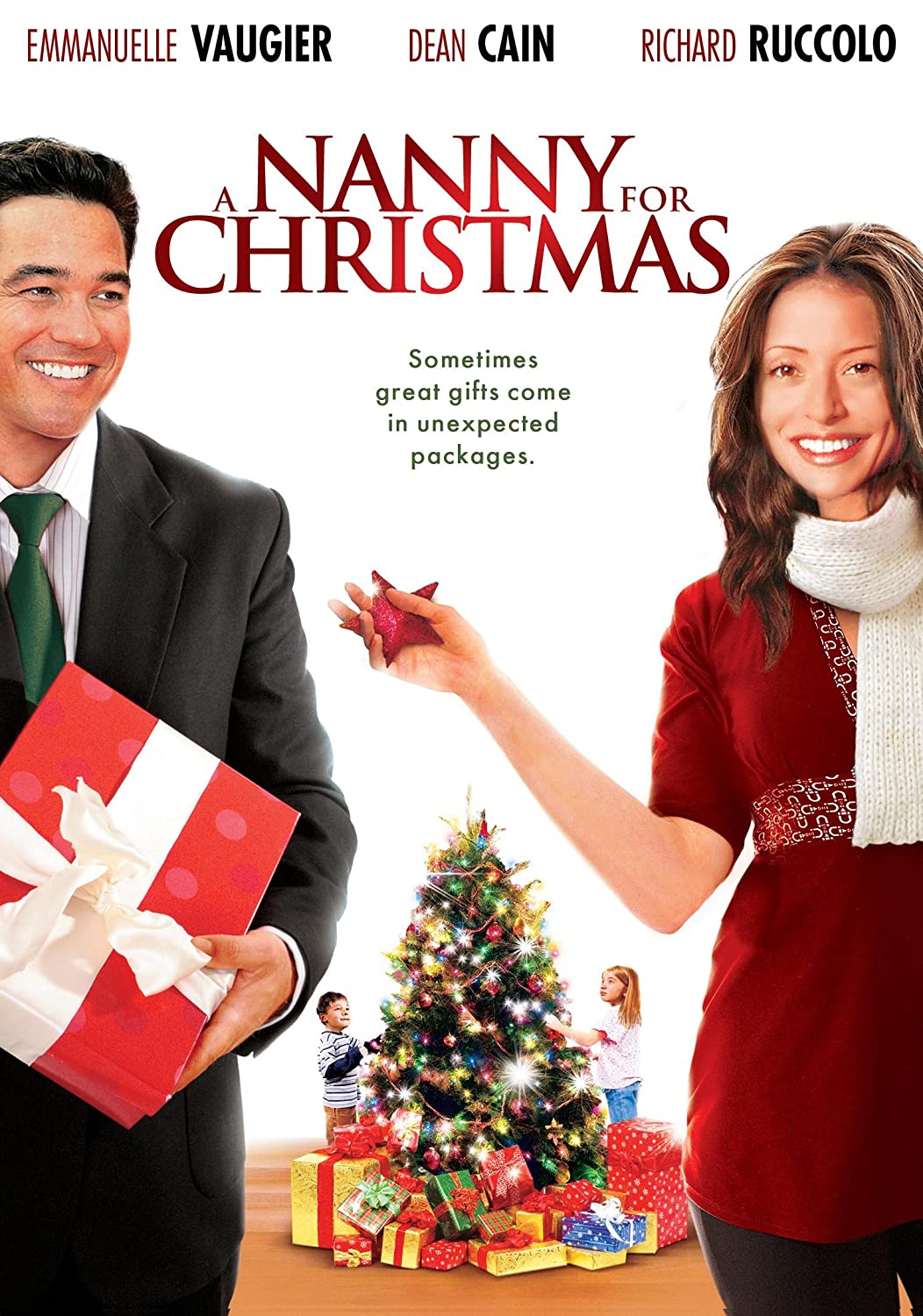Amazon.com: Nanny For Christmas, A: Emmanuelle Vaugier, Dean Cain ...