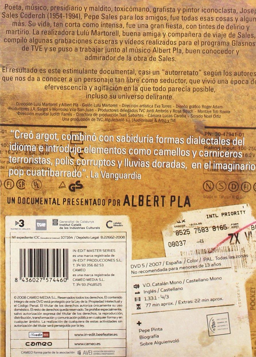 Pepe Sales [DVD]: Amazon.es: Albert Pla, Lulú Martorell: Cine y Series TV