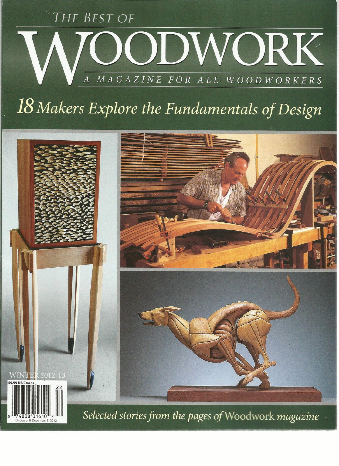 THE BEST OF WOOD WORK, WINTER, 2012/2013 (A MAGAZINE FOR ALL WOOD WORKERS)